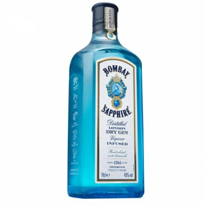 BOMBAY SAPPHIRE GIN 70CL.